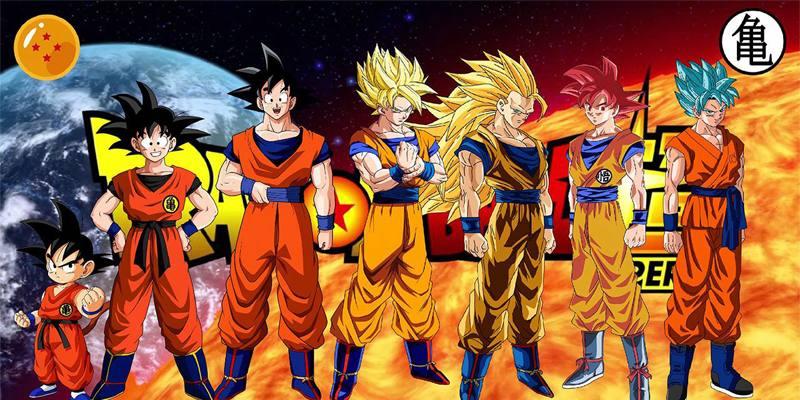 trasformazioni di Goku