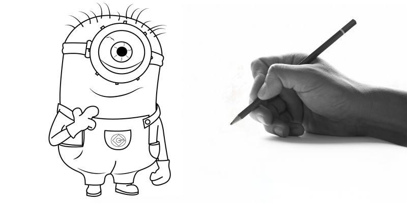 disegnare i Minions