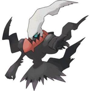 Disegni Da Colorare Pokemon Darkrai.I Pokemon Leggendari Anime Cartoon