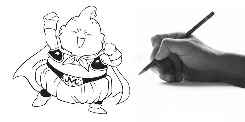 Impara a disegnare Majin Bu