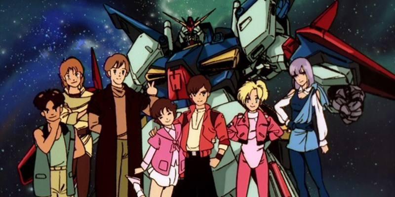 Streaming Mobile Suit Gundam ZZ