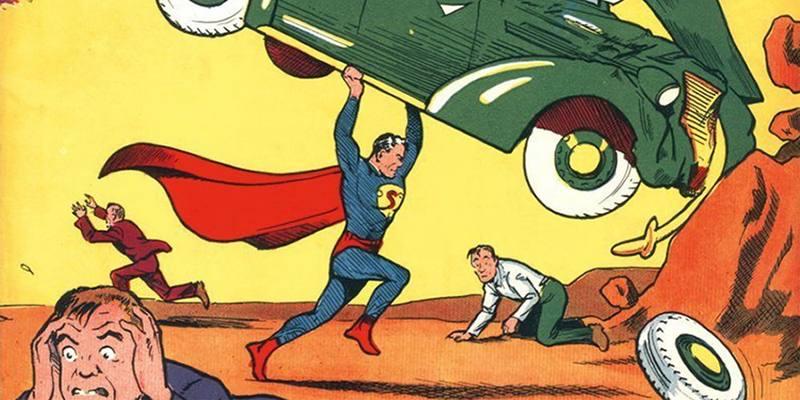 Il fumetto con la prima apparizione di Superman è stato venduto a 3,25 milioni di dollari