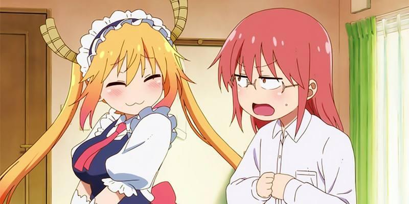 Streaming Kobayashi-san Chi no Maid Dragon S Short Animation Series