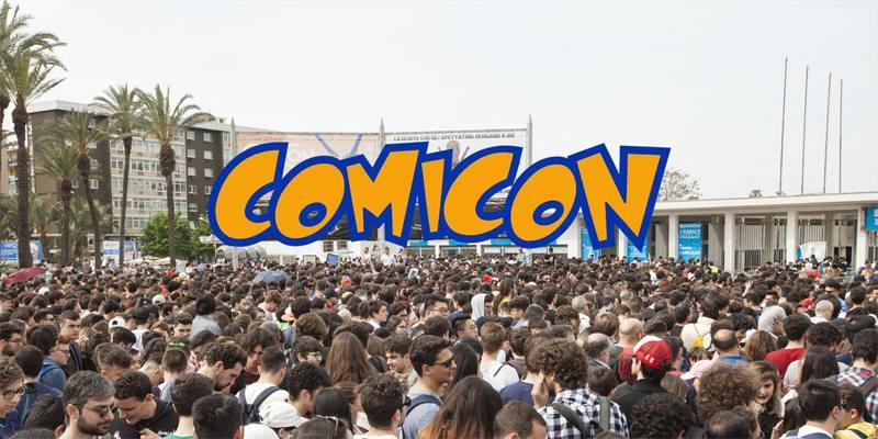 L'edizione 2022 del Comicon si terrà dal 22 al 25 aprile