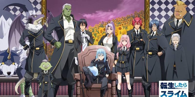 Streaming Tensei shitara Slime Datta Ken 2nd Season Part 2